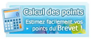 Estimez facilement vos points du Brevet